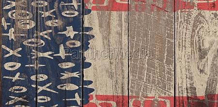 azul projeto grafico madeira marrom parede