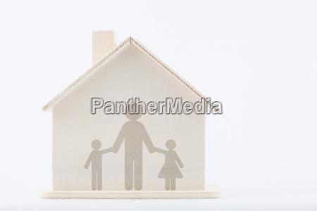 diversidade da familia unico pai com