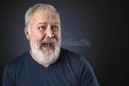 cara azul pessoas povo homem avo