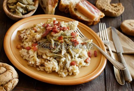 alimento pao madeira cozinha chapa garfo
