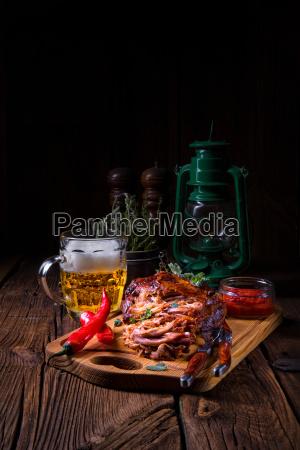 alimento pao closeup americano madeira marrom