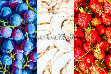 alimento caucasiano europeu europa uvas franca
