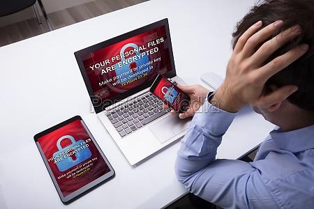 proteger informacao violacao roubo seguranca computadores