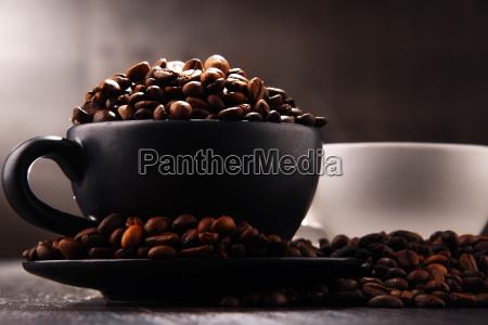 composição, com, duas, xícaras, de, café - 24193546
