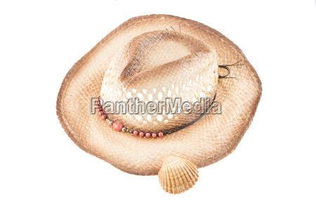 mulher mulheres chapeu concha palha chapeu