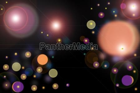 luz cor luzes colorido circulo abstrato
