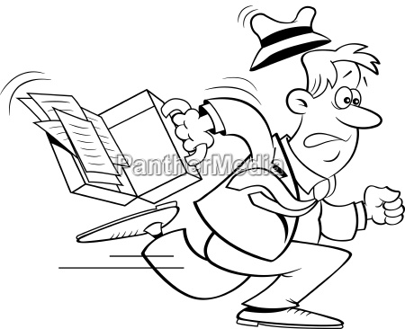 masculino pasta panico fazer jogging empresario