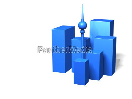 azul casa varios andares de construcao