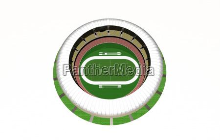 grafico cobertura campo de futebol