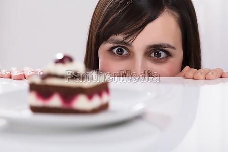 mulher alimento perda bolo torta bolos