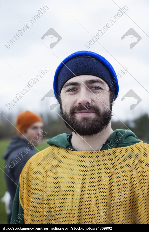 portrait, of, a, bearded, caucasian, man - 24709802