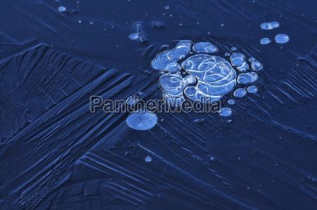 inverno frio vistas vista gelo bolhas