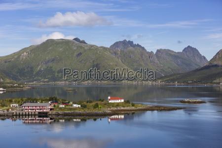 igreja de madeira sildpollen austnesfjorden vagan