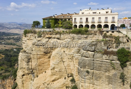 hotel em clifftop scenic andaluzia espanha