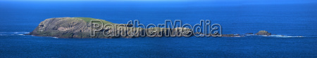 azul aguas horizontalmente gran angular al