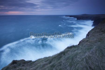 cliffs and coastline of loop head