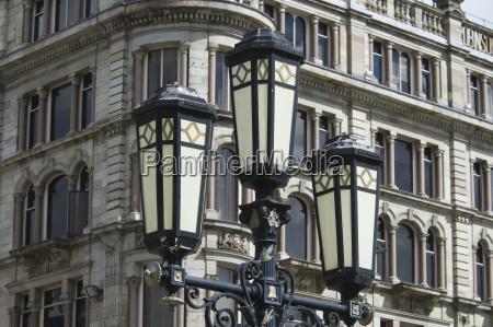 street lamp belfastnordirlanddet forenede kongerige