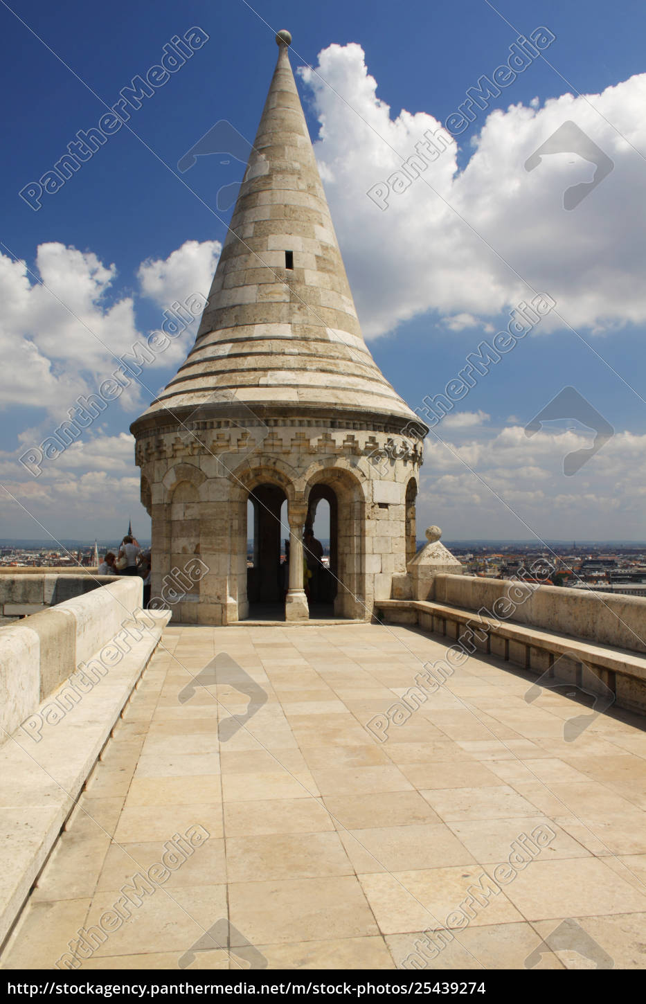 fisherman's, bastion, in, the, castle, district; - 25439274