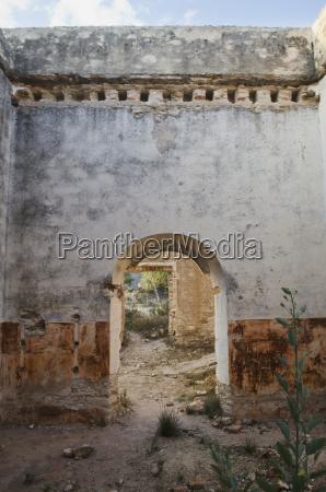 mexico guatajuato pozos entrada na parede