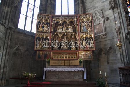 wiener neustaedter altar in the st