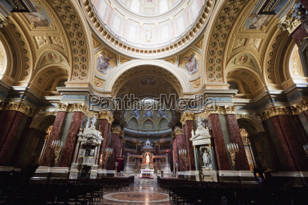 main altar and cupola of st