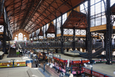 great market hall budapest hungary