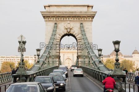szechenyi chain bridge budapest hungary