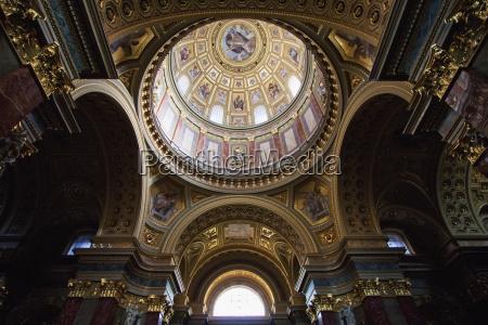 cupola, da, basílica, do, st., stephen, budapest, hungria - 25485232