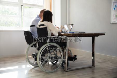 cadeira de rodas trabalho local de