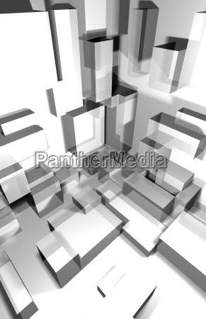 cidade projeto grafico moderno futuro ilustracao