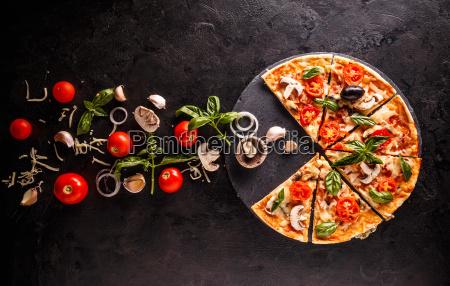 conceito da pizza