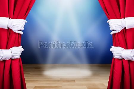 cortina abertura etapa magico mago feiticeiro