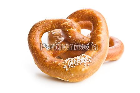 soft salted pretzel