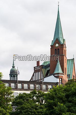 view of the swedish gustaf adolfs