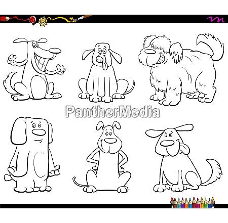 cartoon cao ou filhote de cachorro