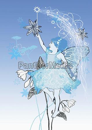 fairy com varinha magica