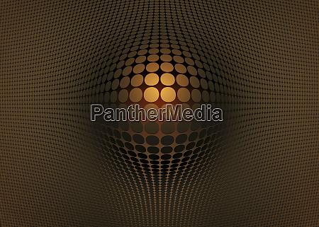 ouro abstrato padrao de abaulamento
