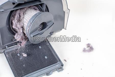 filtro e poeira do aspirador opiniao