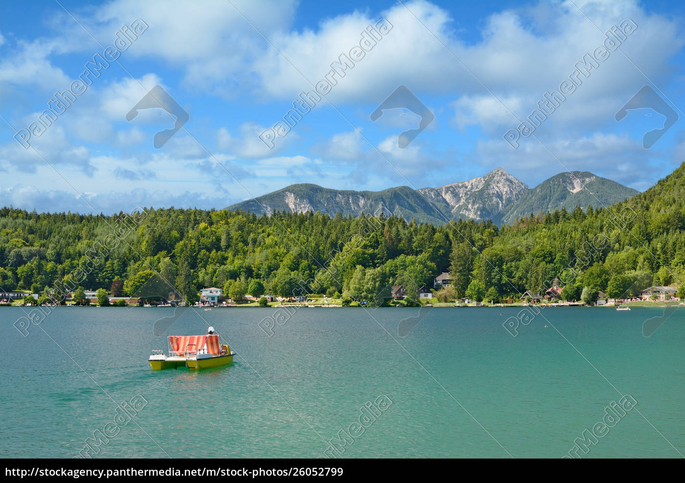 at, lake, klopeiner, see, in, carinthia, austria - 26052799