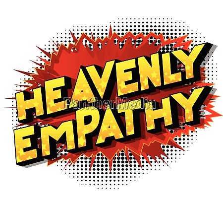 heavenly empathy comic book style