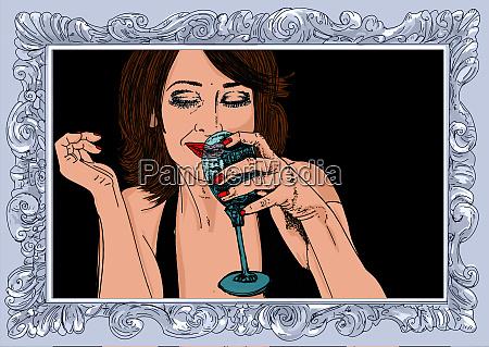 , woman, erotic, , linha, refinada, e - 26094644