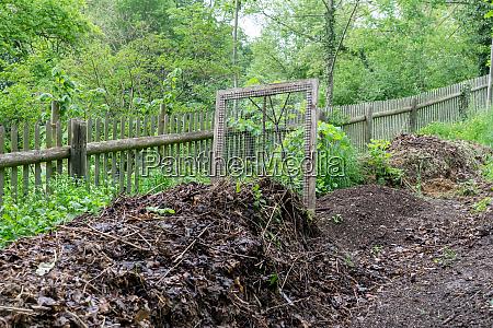 compost maduro y tamiz