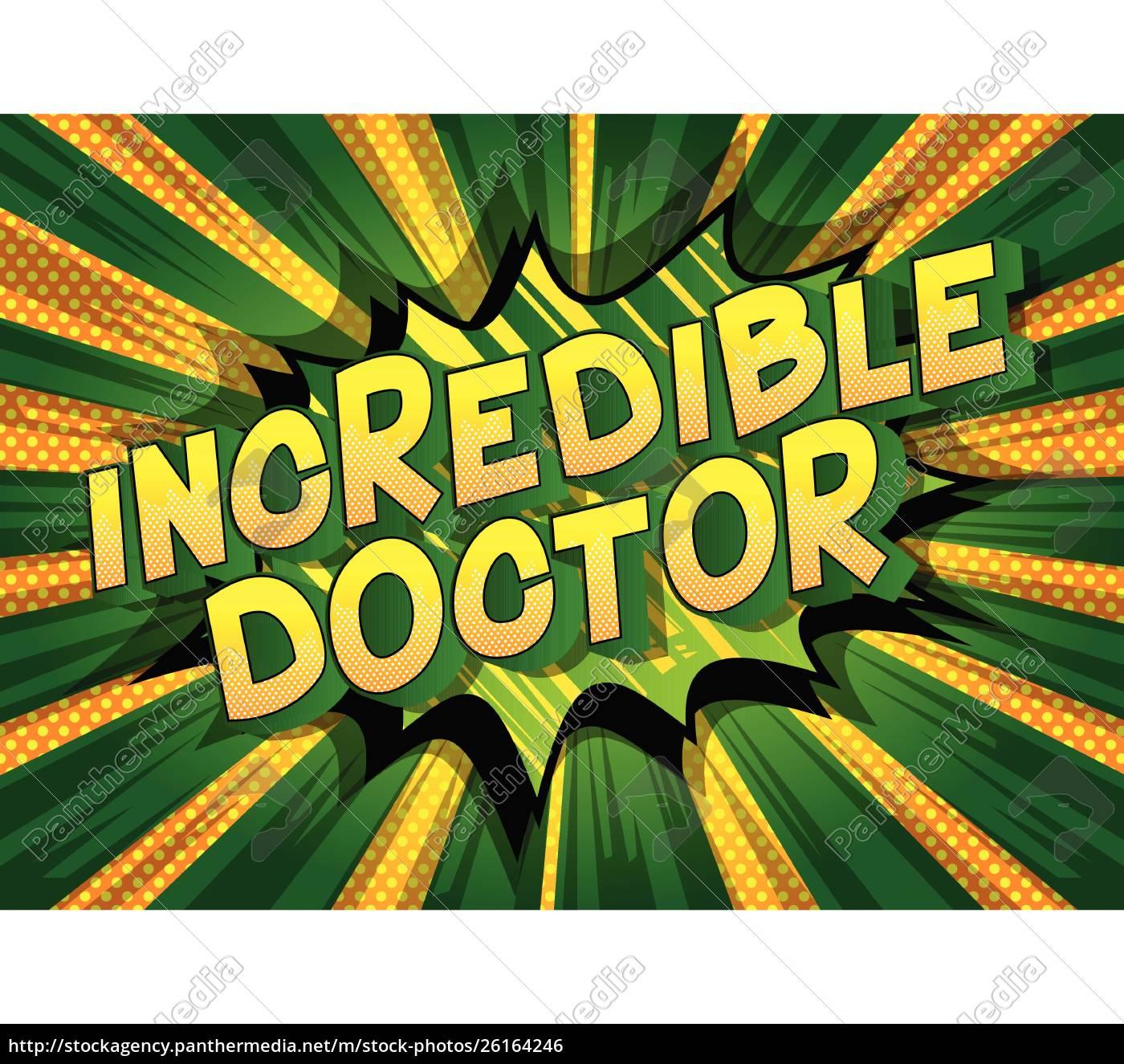 incredible, doctor, -, comic, book, style - 26164246