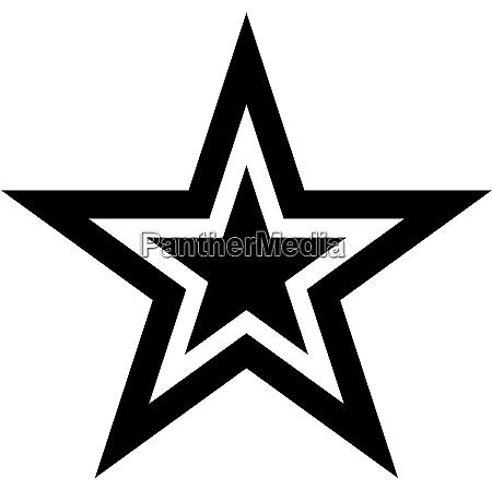 estrela cinco ponta
