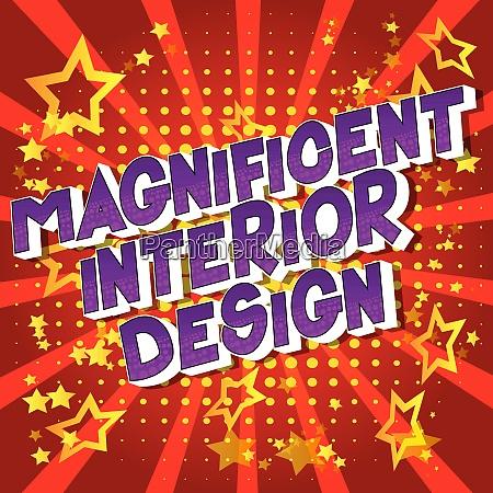 magnificent interior design comic book
