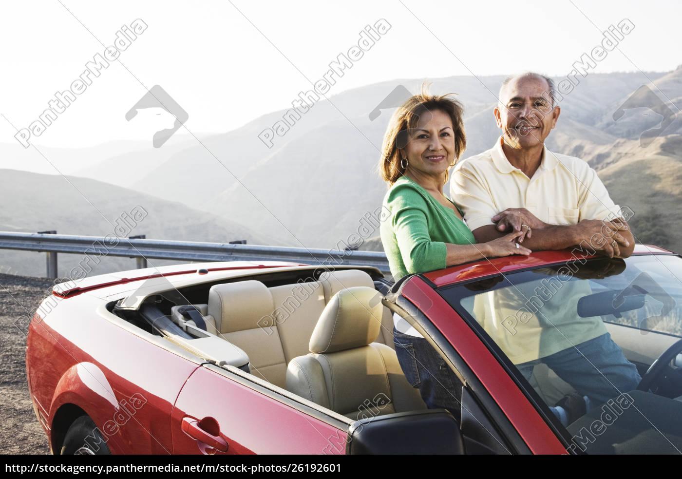 um, par, latino-americano, sênior, do, quadril - 26192601