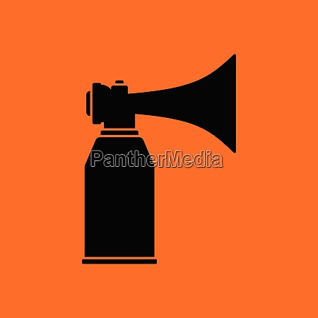 football fans air horn aerosol icon
