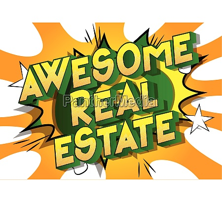 awesome real estate comic book