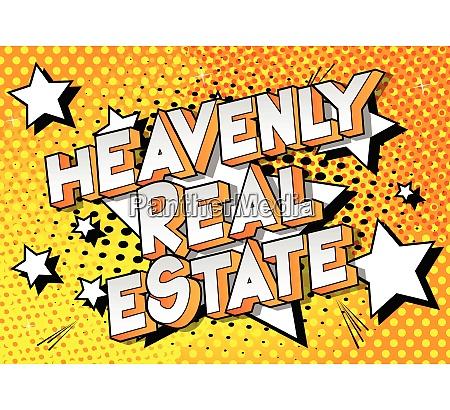 heavenly real estate comic book