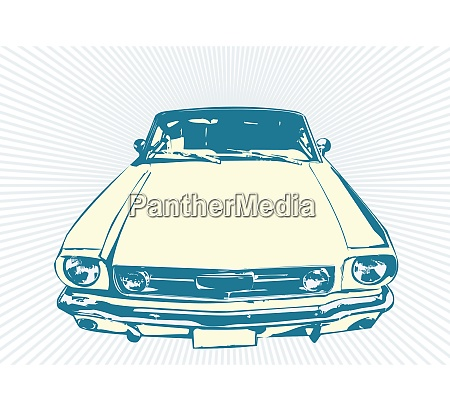 stylish vector illustartion of